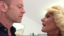 So horny MILF Dyana takes Roccos cock on her pink pussy