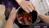MomsTeachSex - Big Dick Trick Or Treat For Step Mom And Step Sis S11:E7