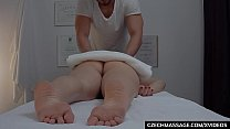 evangalinelove: Young brunette gets the massage of her dreams thumbnail
