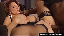 Hot Mature Cougar Deauxma Gets Drilled By A Big... thumb