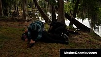 Cambodian Cop Maxine X Fucked By 7 Big Black Zombie Cocks! Preview
