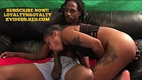 CASTING COUCH!! ROYALTY MEETS BBC KING LOYALTY!!