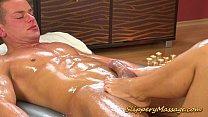 Superb babe offers such good Nuru massage to her curious neighbor