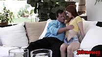 19381 Redhead teen Maya Kendrick fed cum after anal insertion preview