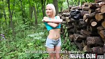 Mofos - Public Pick Ups - (Zazie Skymm) - Euro Babe Fucked in the Woods video