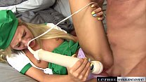 Teen Bella gets her nookie stuffed with big dick preview image