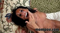 hot brunette milf fucking cock pornhub video