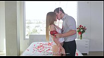 Passion-HD - Sydney Cole gets super sexy massage for Valentine's Day