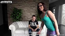 Melonechallenge Young dude finally made it and aprooved by Wendy Moon - download porn videos