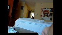 Caught jerking by hotel maid flash thumbnail