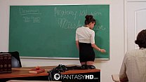 Capri Anderson makes your teacher fantasy a reality - FantasyHD