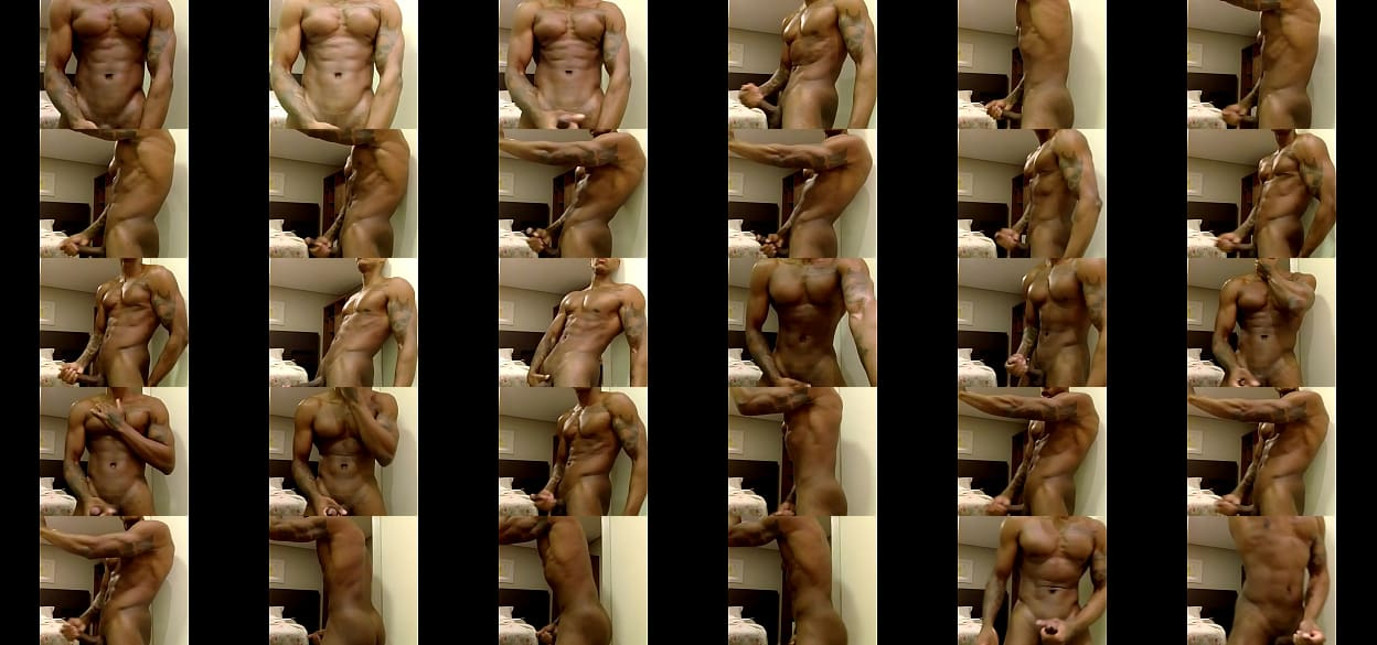 Model with a huge cock staging strong sex