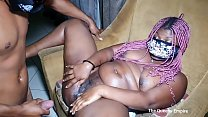 New Big ass ebony destroyed by long hard cock and loves it