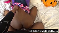 Little black girl fucking big cock tight mouth ...