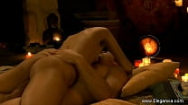 Asian Lovers Try To Get Closer