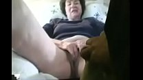 67 year old English grandmother plays with me on Skype, cam444.com's Thumb