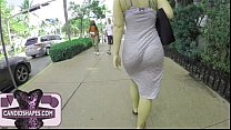 Screenshot Milf Walking Dress See Trough