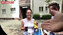 LETSDOEIT - Amateur German Milf Picked Up and F... Thumbnail