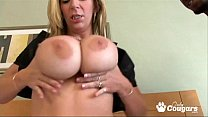 PAWG Sara Jay Fucks Two Lucky Black Dudes preview image