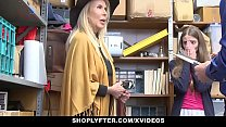 Screenshot ShopLyfter -  Granddaughter And Grandmother Duo ...