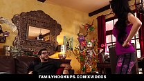 FamilyHookUps - Stepmom Seduced and Plowed by Stepson - 9Club.Top