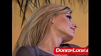 Screenshot Donny Long b reaks skinny milf asshole and DP he...