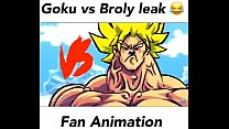 Goku Vs Broly Fan Animation