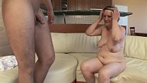 OLD HOUSEWIFE FUCKS WITH YOUNG BOY !! video