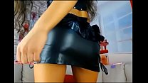 Perfect teen in leather 2