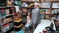 Teen and dad shoplifting make a deal with the LP officer thumbnail