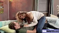 Mature Lady (julia ann) With Big Juggs Enjoy Sex vid-17