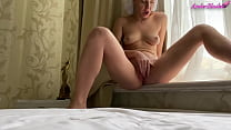Playful Bitch Fingers Her Gentle Vagina On Camera