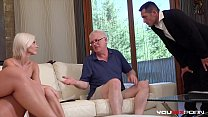 YOUMIXPORN Interactive - Mobster fucks old man's slutty wife and daughter's Thumb