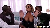 Busty MILF Aubrey Black Squirts On A Big Black Cock thumbnail