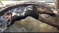 Wetlook russion girl play in the pool - camme.ga