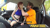 Fake Driving School Instructor fucks and creamp...