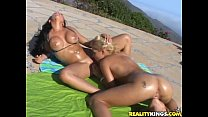 Nikki, Audrey Bitoni & Marlie Moore getting themselves in a hot lesbo pretzel
