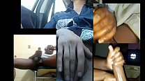 I did a video chat with a group while in my car صورة