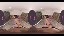 PORNBCN VR 4K | Mileena from Mortal Kombat has held you back and she only wants one thing to be her toy, are you willing to let her play with you? Venus Afrodita cosplay in virtual reality new scene