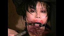 Oriental humiliation and lesbian fetish slavery of busty Tigerr Benson preview image