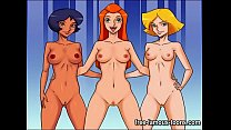 Totally Spies hentai parody