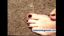 Amber - 1st Time Footjob