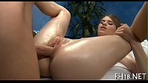 Hot eighteen year old girl gets drilled hard