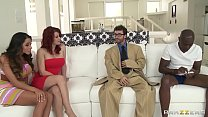 Image: Brazzers - Mommy Got Boobs - Ariella Ferrera Sarah Blake James Deen and Sean Michaels -  Trading Rac