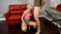 Vanessa Cage and Step Mom fuck Dad - 9Club.Top