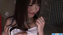 Kotomi Asakura appealing Asian goes naughty on ...