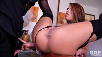 Incredibly hot XXX fuck shows Milf Adriana Chechik riding big dick with ass Thumbnail
