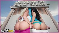 BANGBROS - Angel Vain and Liz Get Their Big Asses Hammered With Dick On Ass Parade