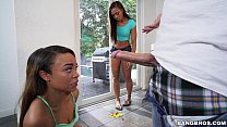 Adrian Maya and Jamie Marleigh Quickly Learn That Sharing Is Caring (bkb15815)