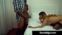 Camille Lixx Gets Interracial Anal Creampie by Rome Major!